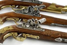 Denix Replica Guns - Pre 1870 Pistols