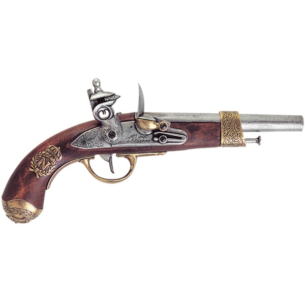 Napoleon pistol manufactured by Gribeauval France 1806