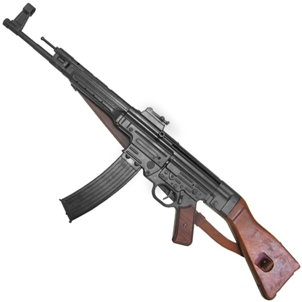 <![CDATA[1944 Stg 44 Mp44 Storm Assualt Rifle With Leather Belt]]>