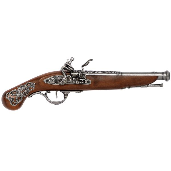 English Flintlock Pistol (18th Century)