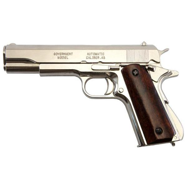 Automatic Pistol .45 M1911A1 USA 1911 Nickel Body